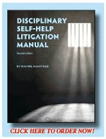 Disciplinary Self-Help Litigation Manual